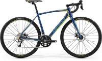 Велосипед Merida CycloCross 300 Petrol (Yellow/Lite Teal) 2019