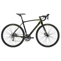 Велосипед Merida CycloCross 90 MattBlack/DarkSilver/Yellow 2019